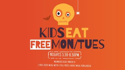 Kids Eat Free Mon/Tue