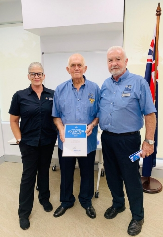 Gold Coast Volunteer Awards and Nerang Bowls Club and Angie Bell MP
